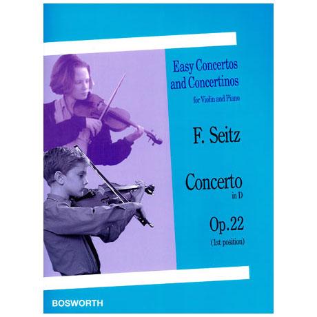 Seitz: Concerto in D op.22