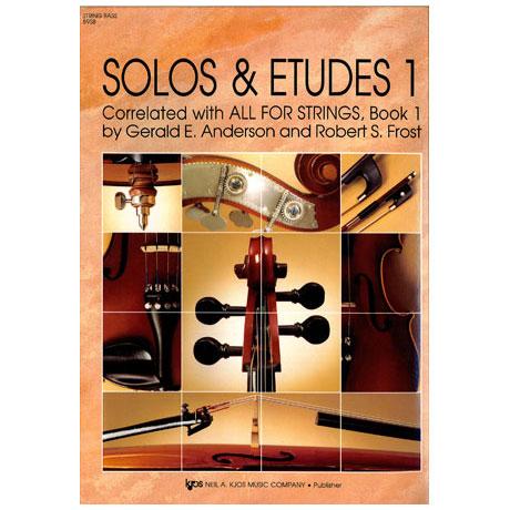 Alles für Streicher - Solos und Etüden Heft 1