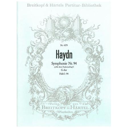 Haydn, J.: Symphonie Nr. 94 G-Dur Hob I:94