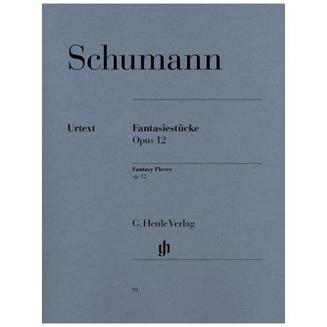 Schumann, R.: Fantasiestücke Op. 12 (mit Anhang: WoO 28)