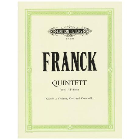 Franck, C.: Klavierquintett f-moll