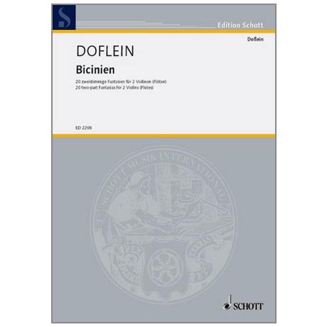 Doflein, E.: Bicinien
