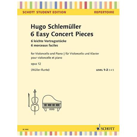 Schlemüller, H.: 6 leichte Vortragsstücke Op. 12