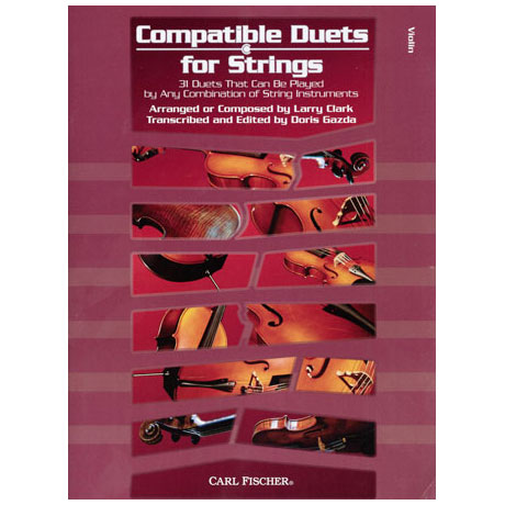 Compatible Duets for Strings Vol. I – Violin