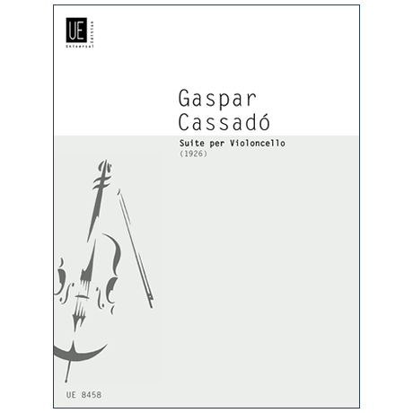 Cassadó, G.: Cello-Suite
