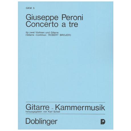 Peroni, G.: Concerto a tre F-Dur