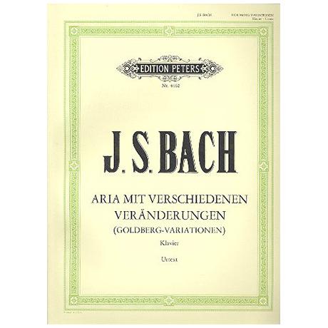 Bach, J. S.: Aria mit 30 Veränderungen (Goldberg-Variationen) BWV 988