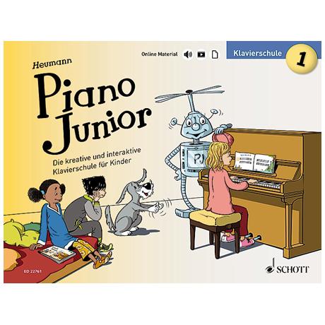 Heumann, H.-G.: Piano Junior – Klavierschule Band 1 (+Online Material)