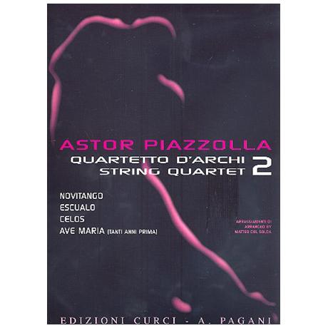 Piazzolla für Streichquartett Band 2