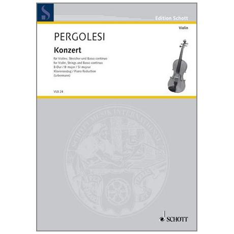 Pergolesi, G.B.: Konzert B-Dur