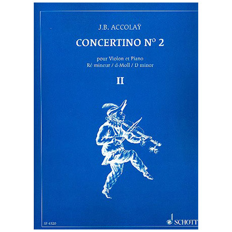 Accolay, J.B.: Concertino Nr.2 d-Moll