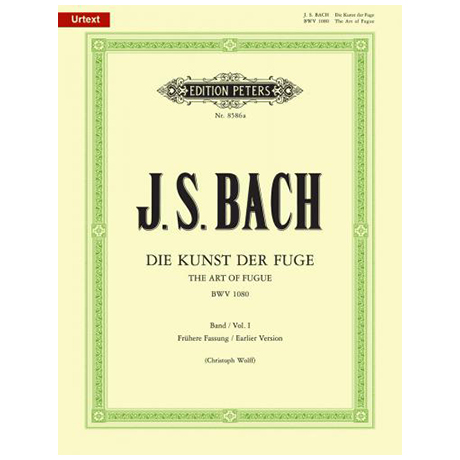 Bach, J. S.: Die Kunst der Fuge BWV 1080