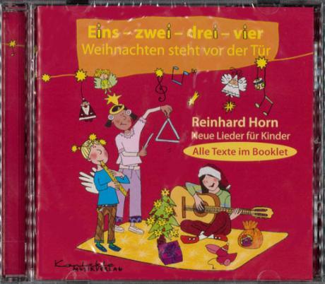 Eins, zwei, drei, vier - Weihnachten steht vor der Tür (nur CD)