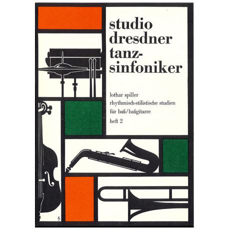 Spiller, L.: Rhythmisch-stilistische Studien für Bass/Bassgitarre, Heft 2