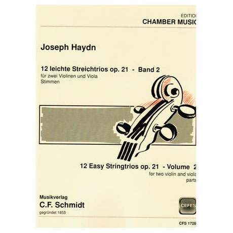 Haydn, J.: 12 leichte Streichtrios Op. 21 – Band 2