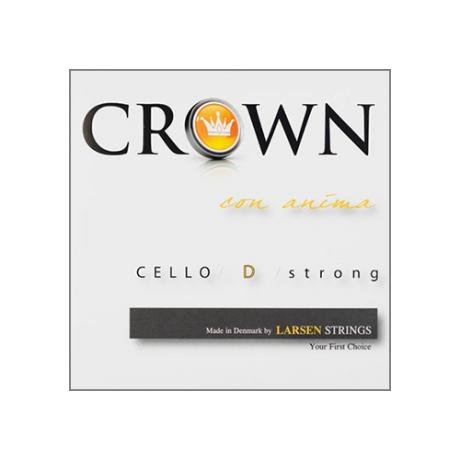 CROWN Strings by LARSEN Cellosaite D mittel