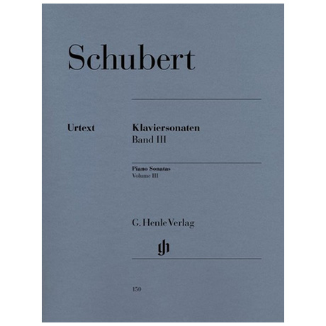 Schubert, F.: Klaviersonaten Band III