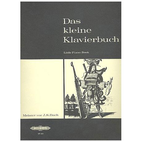 Kleines Klavierbuch Band I: Meister vor J.S. Bach