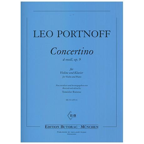 Portnoff, L.: Concertino Op.9 d-Moll
