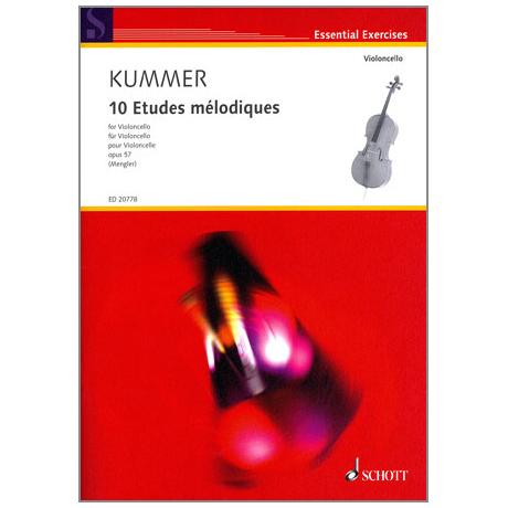 Kummer: 10 Etudes melodiques