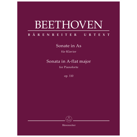 Beethoven, L. v.: Klaviersonate Op. 110 As-Dur