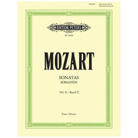 Mozart, W. A.: Sonaten Band II