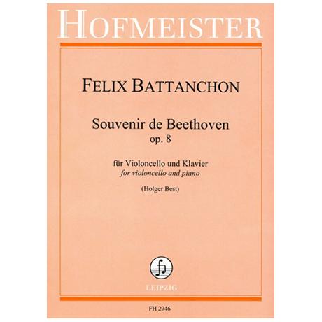 Battanchon, F.: Souvenir de Beethoven Op. 8