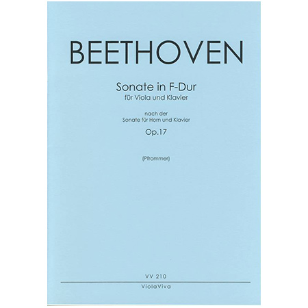 Beethoven, L. v.: Violasonate F-Dur nach Op. 17