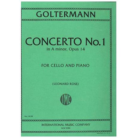 Goltermann, G.: Konzert Nr. 1 in a-moll op. 14