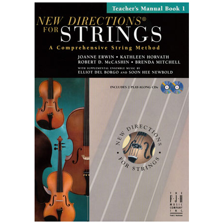 New Directions for Strings - Teacher's Manual Book 1 (+CD)
