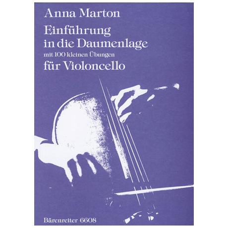 Marton, A.: Einführung in die Daumenlage