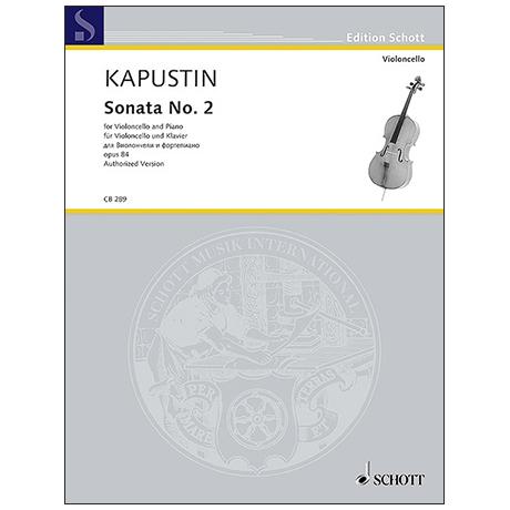 Kapustin, N.: Sonate Nr. 2 Op. 84