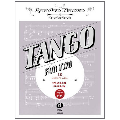 Gall, C.: Tango for Two (+CD)