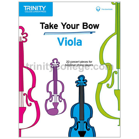 Take Your Bow – Viola (+Online Audio)