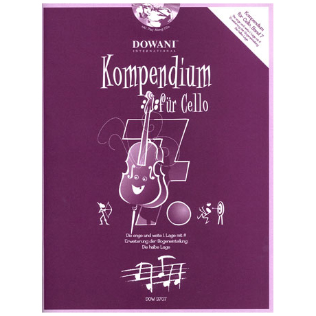 Kompendium für Cello - Band 7 (+ 2 CD's)