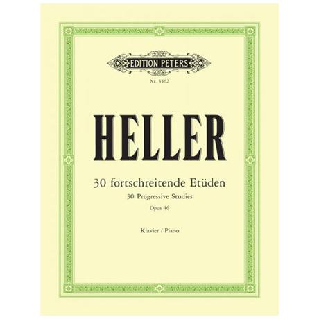 Heller, S.: 30 Fortschreitende Etüden Op. 46