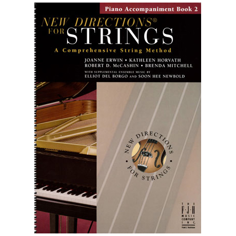 New Directions for Strings – Piano Accompaniments Book 2 (+CD)