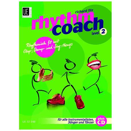 Filz, R.: Rhythm Coach Bd.2 (+CD)