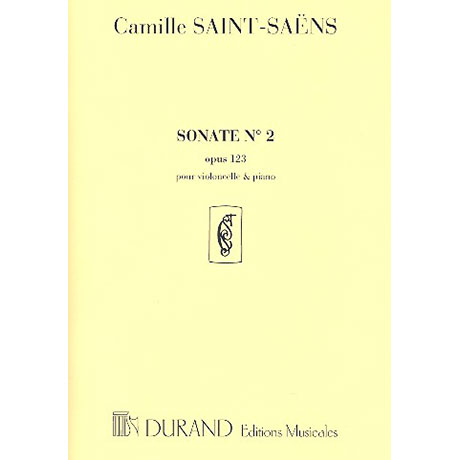 Saint-Saens, C.: Sonate F-Dur Op.123,2