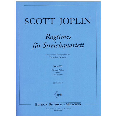 Joplin, S.: Ragtimes - Band 7