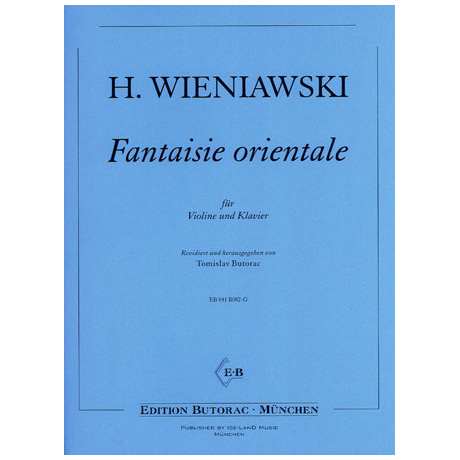 Wieniawski, H.: Fantaisie orientale