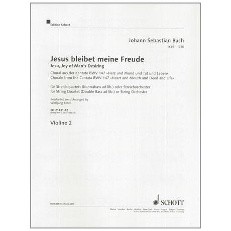 Bach, J. S.: Jesus bleibet meine Freude