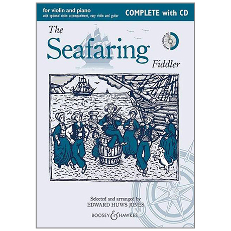 Huws Jones, E.: The Seafaring Fiddler (+CD)