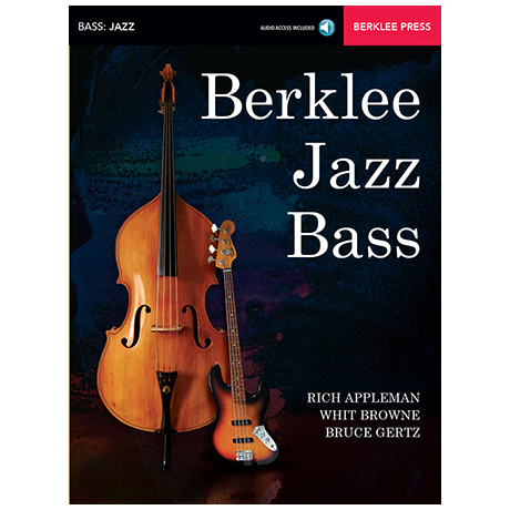 Appleman, R./Browne, W./Gertz, B.: Berklee Jazz Bass (+Online Audio)