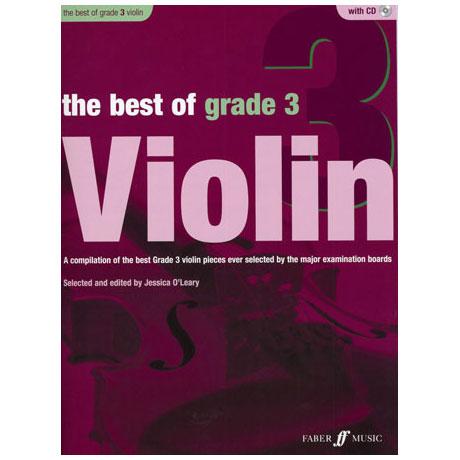 The Best Of Grade 3 Violin (+CD)