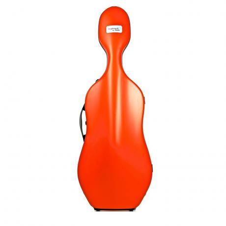 HIGHTECH SLIM 2.9 Cello Case von BAM 4/4 | orange