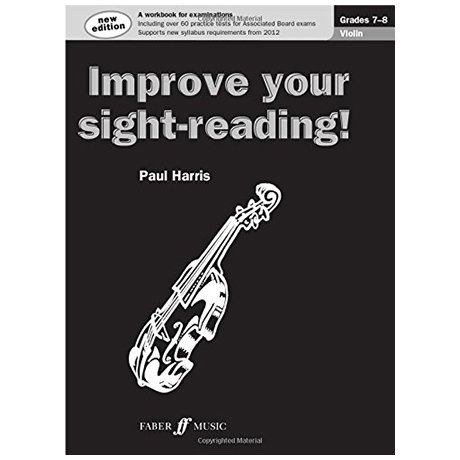 Harris, P.: Improve your sight reading Grade 7-8
