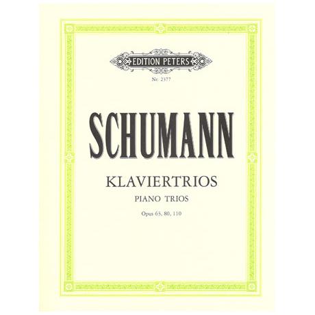 Schumann, R.: Sämtliche Klaviertrios op. 63, op. 80, op. 110
