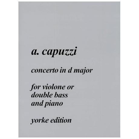 Capuzzi, G.A.: Concerto D-Dur