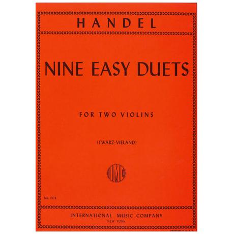 Händel, G.F.: Neun leichte Duette